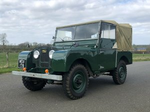 1951 Land Rover Series 1 80 SOLD