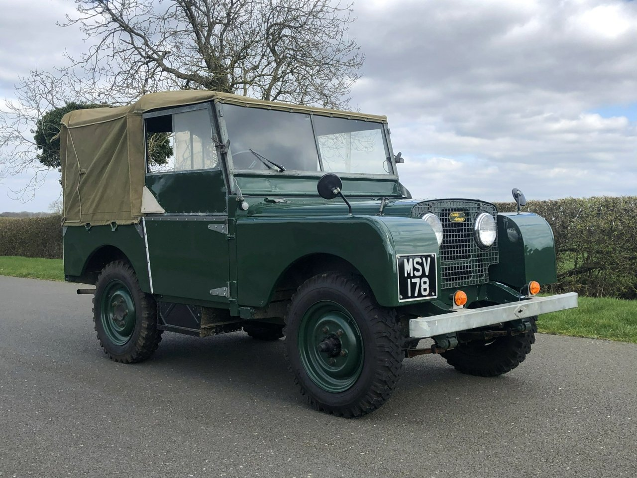 1951 Land Rover Series 1 80 SOLD (picture 3 of 6)