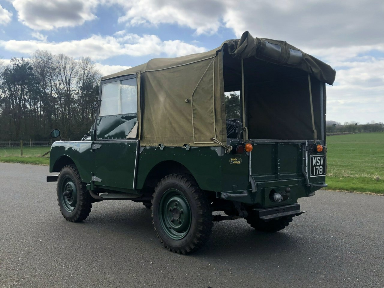 1951 Land Rover Series 1 80 For Sale (picture 4 of 6)