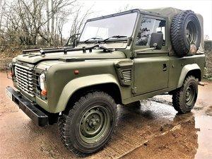 1998 Defender 90 300TDi Wolf soft top+good history+no VAT For Sale