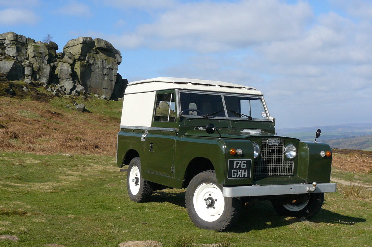 1963 LAND ROVER SERIES 2A  For Sale (picture 1 of 6)