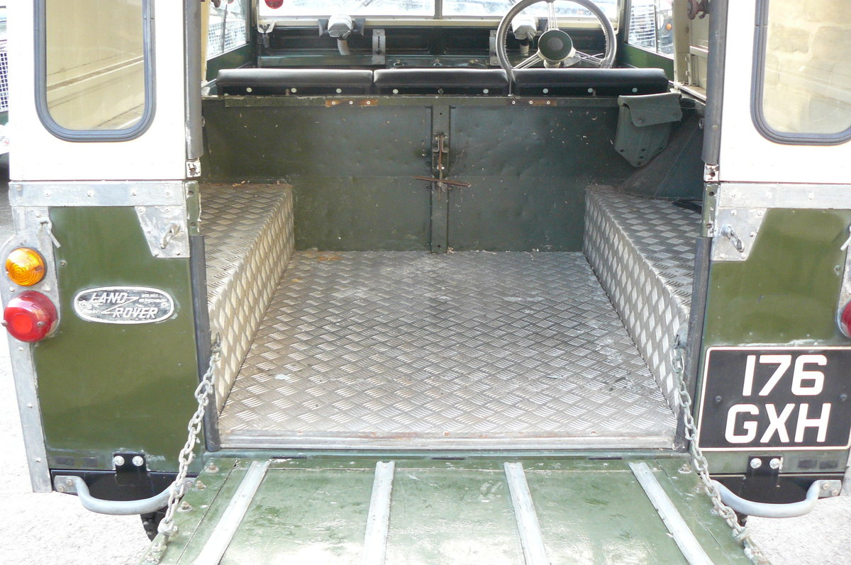1963 LAND ROVER SERIES 2A  For Sale (picture 5 of 6)