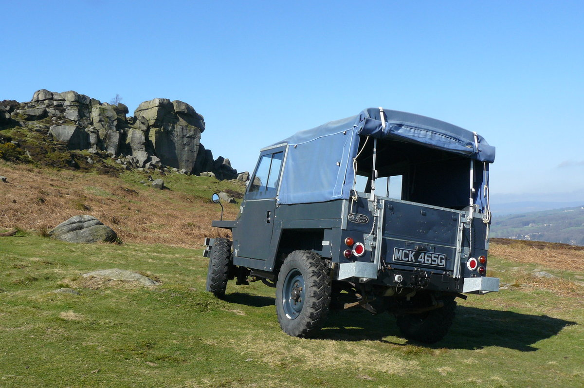 1969 EX RAF SERIES 2A LIGHTWEIGHT For Sale (picture 1 of 6)