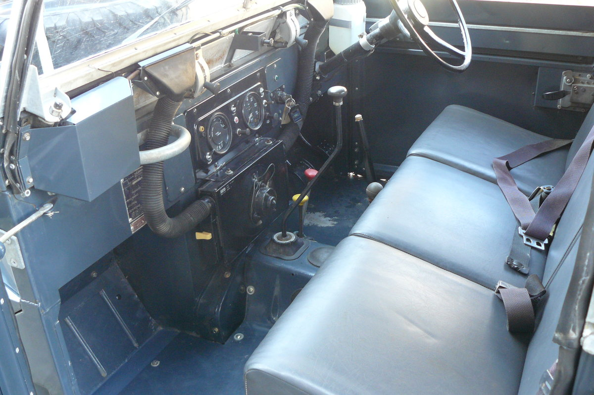1969 EX RAF SERIES 2A LIGHTWEIGHT For Sale (picture 5 of 6)