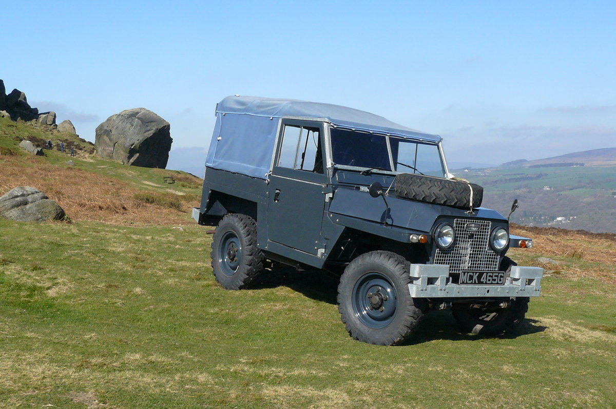 1969 EX RAF SERIES 2A LIGHTWEIGHT SOLD (picture 6 of 6)