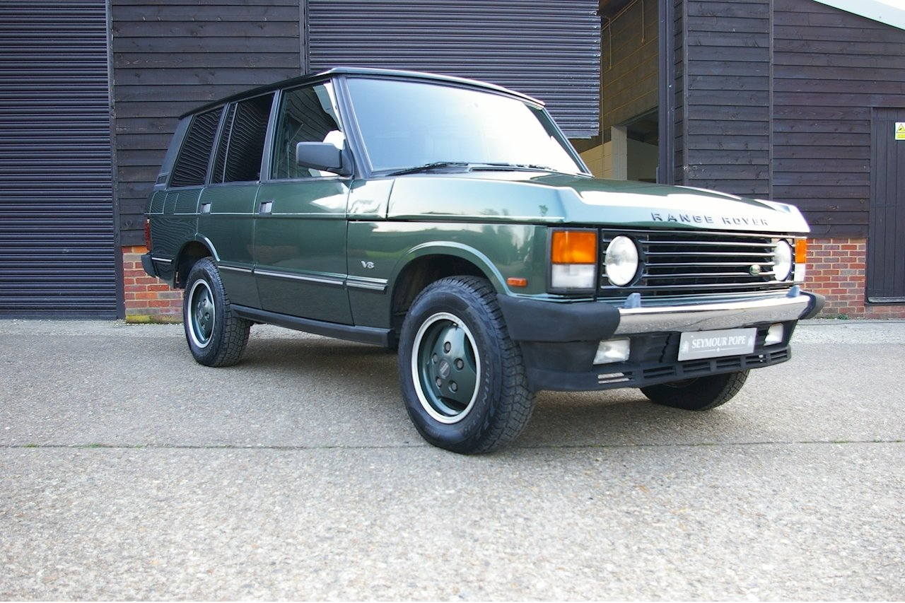 1993 Land Rover Range Rover Classic 3.9 V8 SWB Auto (83916 miles) For Sale (picture 1 of 6)