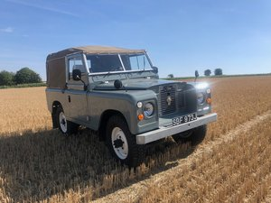 1971 Land Rover Series 2a 2.25 D Soft top. Rebuilt For Sale