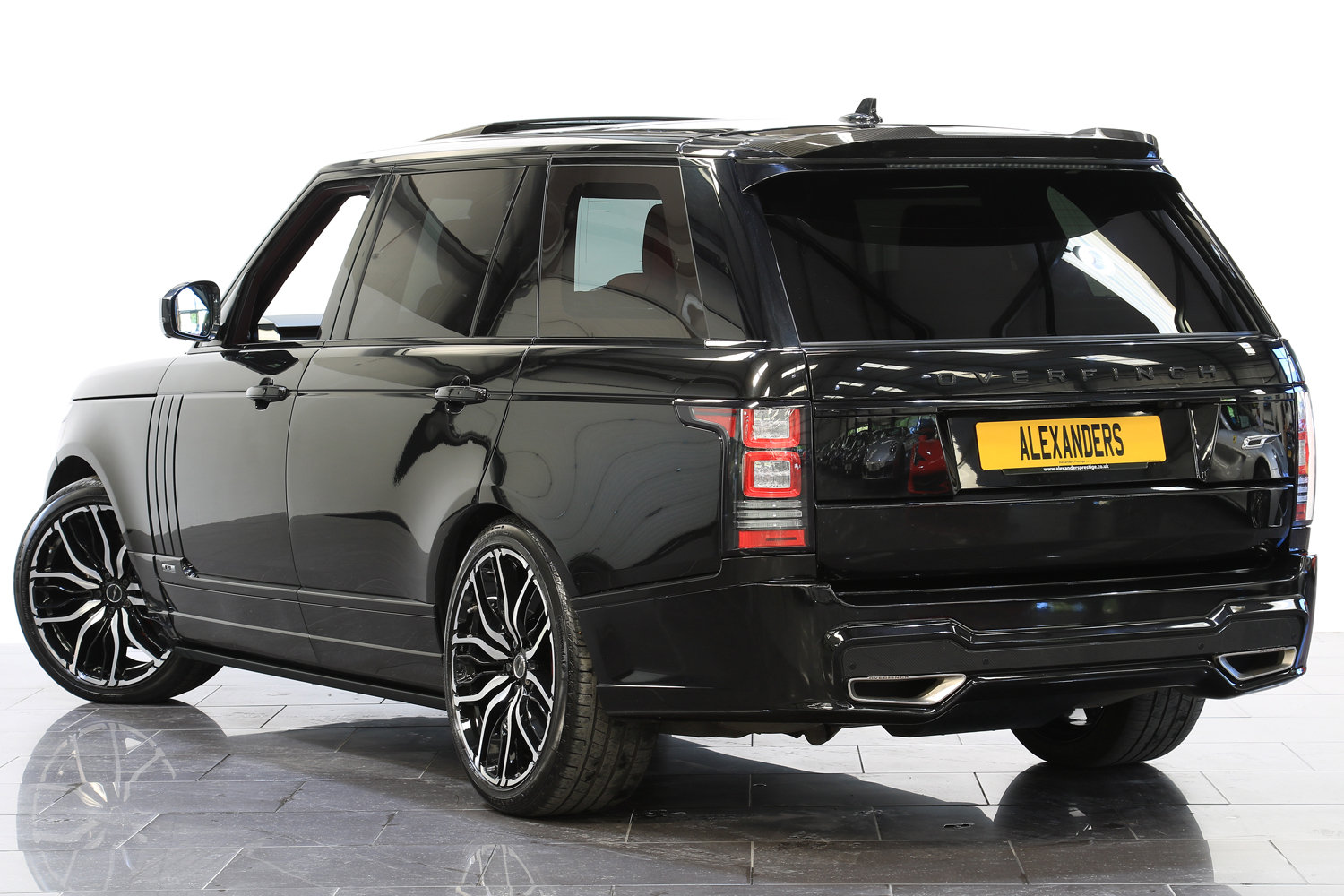 2016 16 RANGE ROVER 4.4 SDV8 AUTOBIOGRAPHY OVERFINCH LWB  For Sale (picture 3 of 6)