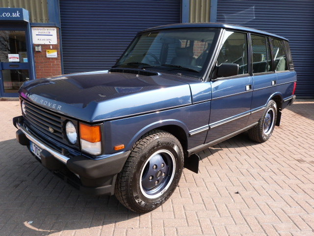 1994 Range Rover Classic SE Spec Soft Dash Model Only 54,000 MLS For Sale (picture 1 of 6)
