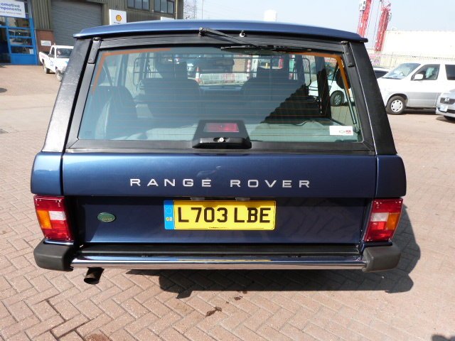 1994 Range Rover Classic SE Spec Soft Dash Model Only 54,000 MLS For Sale (picture 3 of 6)