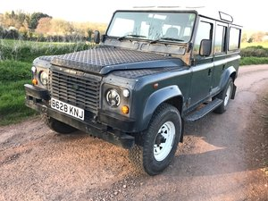 1985 Land Rover 110 defender county V8 station wagon For Sale