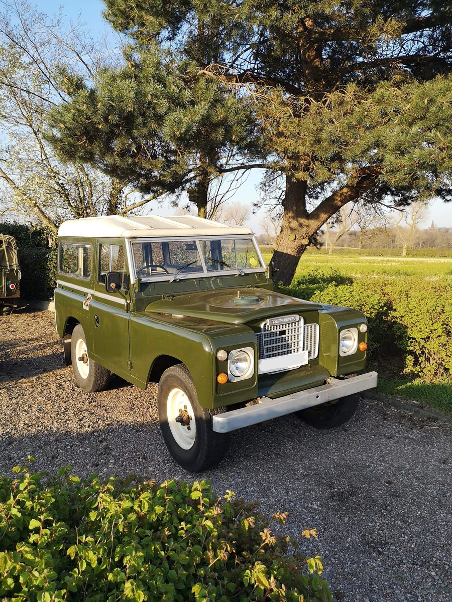 1982 Land Rover SWB 88 Series 3 Diesel Full MOT SOLD (picture 1 of 6)