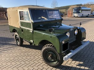 "1953 Land Rover Series 1 86"" soft top SUPERB EXAMPLE For Sale"