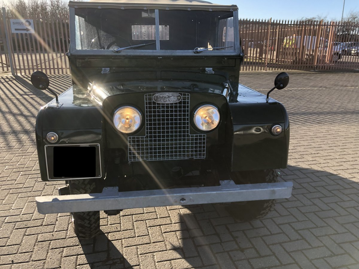 1953 Land Rover Series 1 86 SOLD (picture 4 of 6)