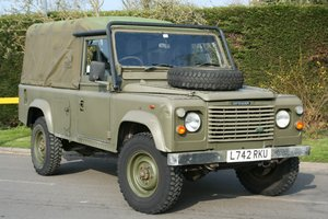1993 Land Rover Defender 110 2.5D Ex MOD Tithonus Soft Top SOLD