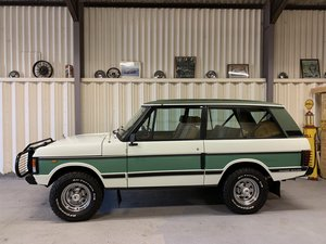"1985 ""Unique"" Range Rover 2 door 1 owner 21,893m from new SOLD"