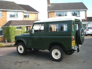 1981 Land rover series 3.