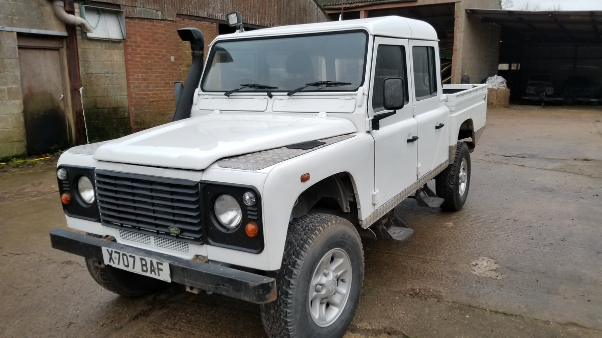 Defender 130 Double Cab Pick Up 2001. 5 Speed 4dr. For Sale (picture 1 of 5)
