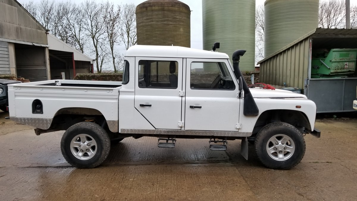 Defender 130 Double Cab Pick Up 2001. 5 Speed 4dr. For Sale (picture 3 of 5)