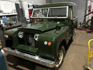1958 Land Rover Series 2, 2.25 petrol, Galvanised chassis  For Sale