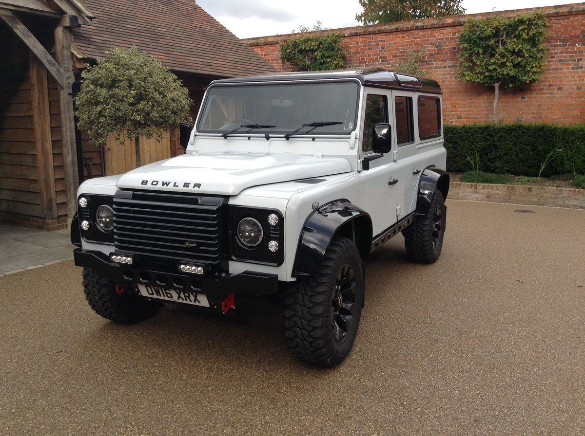 2016 Lander Rover Defender 110- Bowler-Griffin 180bhp For Sale (picture 1 of 6)