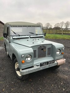 1970 Land Rover Series 2A