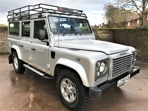 2005 Defender 110 TD5 XS Station Wagon 9 seater+A1history For Sale