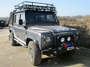 A 2001 Land Rover Defender 110 Tomb Raider-23/06/19