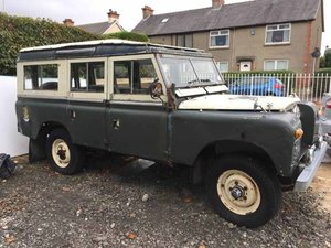 1965 Land Rover Series II for restoration