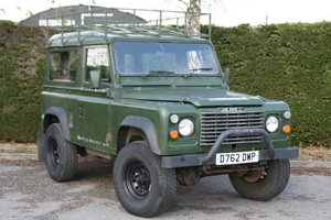 1986 Land Rover Defender 90 2.5D Ex MOD Hard Top For Sale