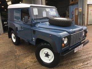1996 land rover defender 90 300 tdi only 46000 miles mint