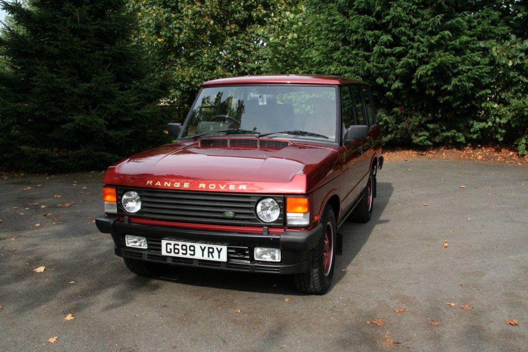 1990 Range Rover