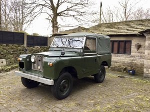 1959 Land Rover Series 2, 2.25 Petrol For Sale