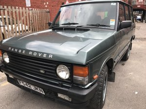 Range Rover Classic 1989 near concourse PX For Sale
