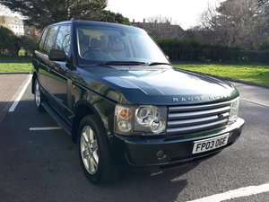 2003 Range Rover Vouge For Sale