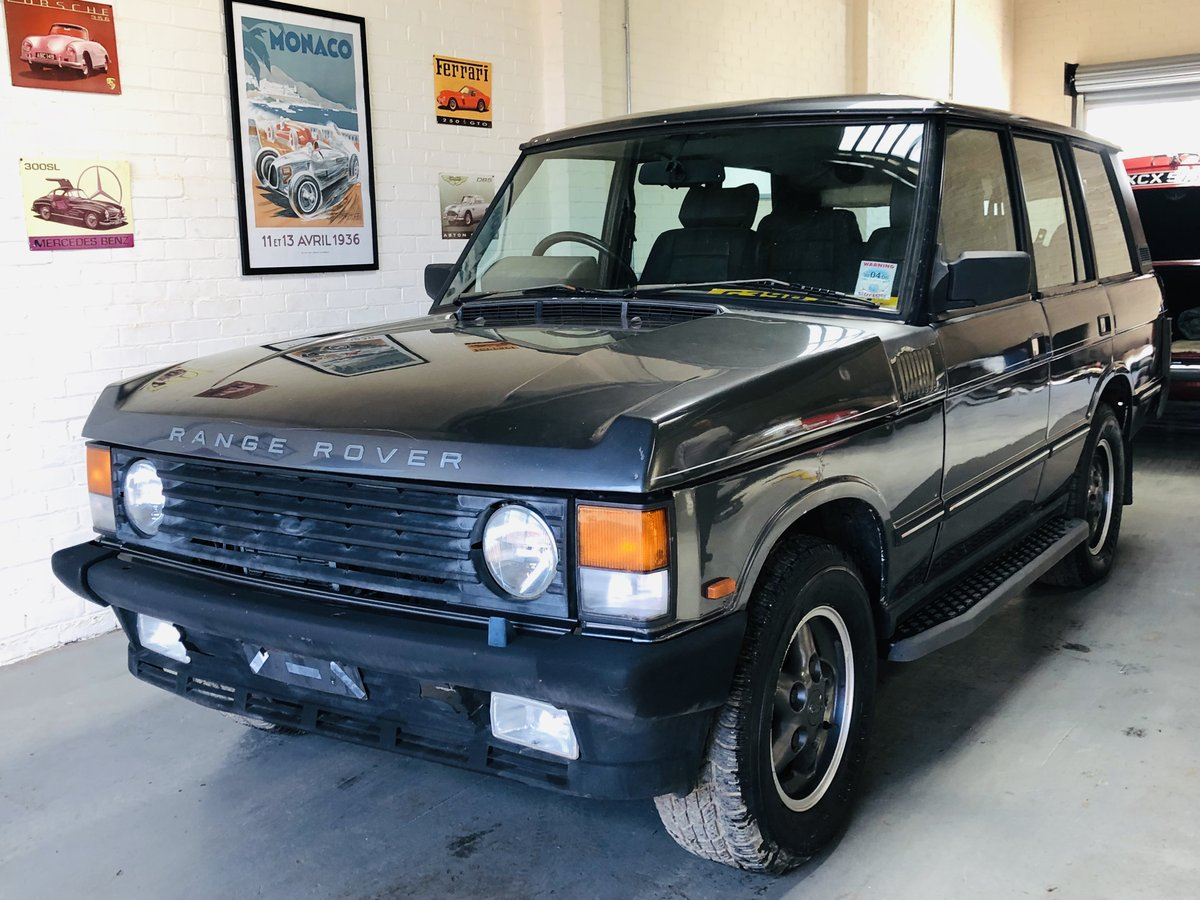 1990 RANGE ROVER CLASSIC - OVERFINCH CONVERSION 570CI 5.7 V8 SOLD (picture 1 of 6)