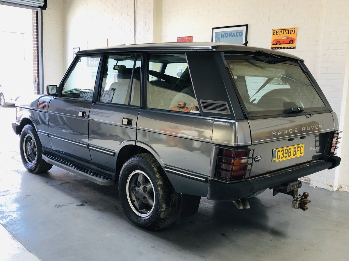 1990 RANGE ROVER CLASSIC - OVERFINCH CONVERSION 570CI 5.7 V8 SOLD (picture 2 of 6)