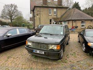 1995 Range Rover -  Green 4.0 SE - For Restoration For Sale