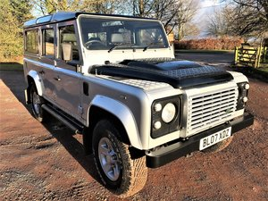 2007 Defender 110 TDCi XS station waqon 5 seater+good hist