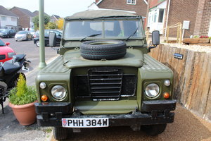 Ex-Army (Papers and Plate) Landy Series 3 1981 For Sale