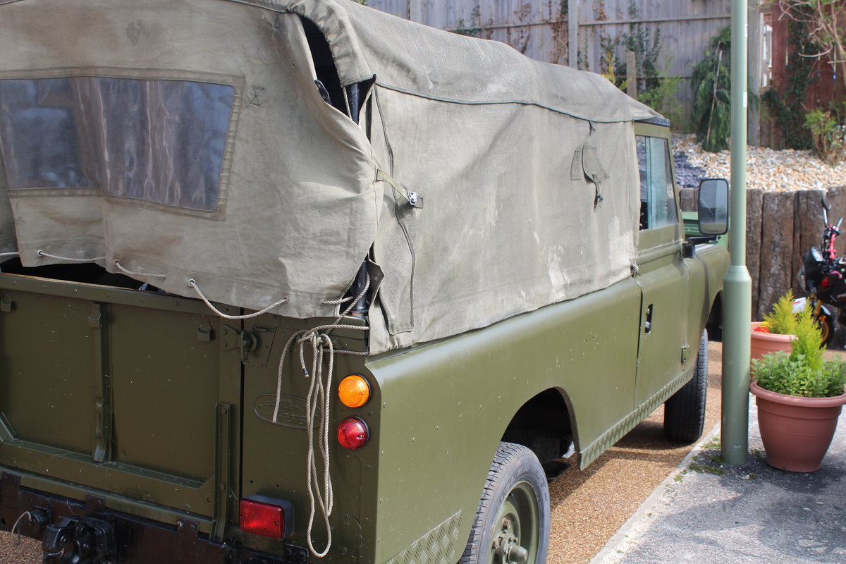 Ex-Army (Papers and Plate) Landy Series 3 1981 For Sale (picture 4 of 6)