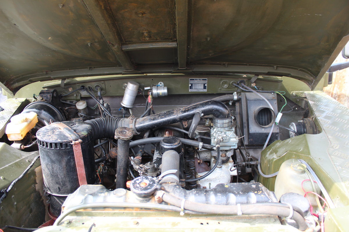 Ex-Army (Papers and Plate) Landy Series 3 1981 For Sale (picture 5 of 6)