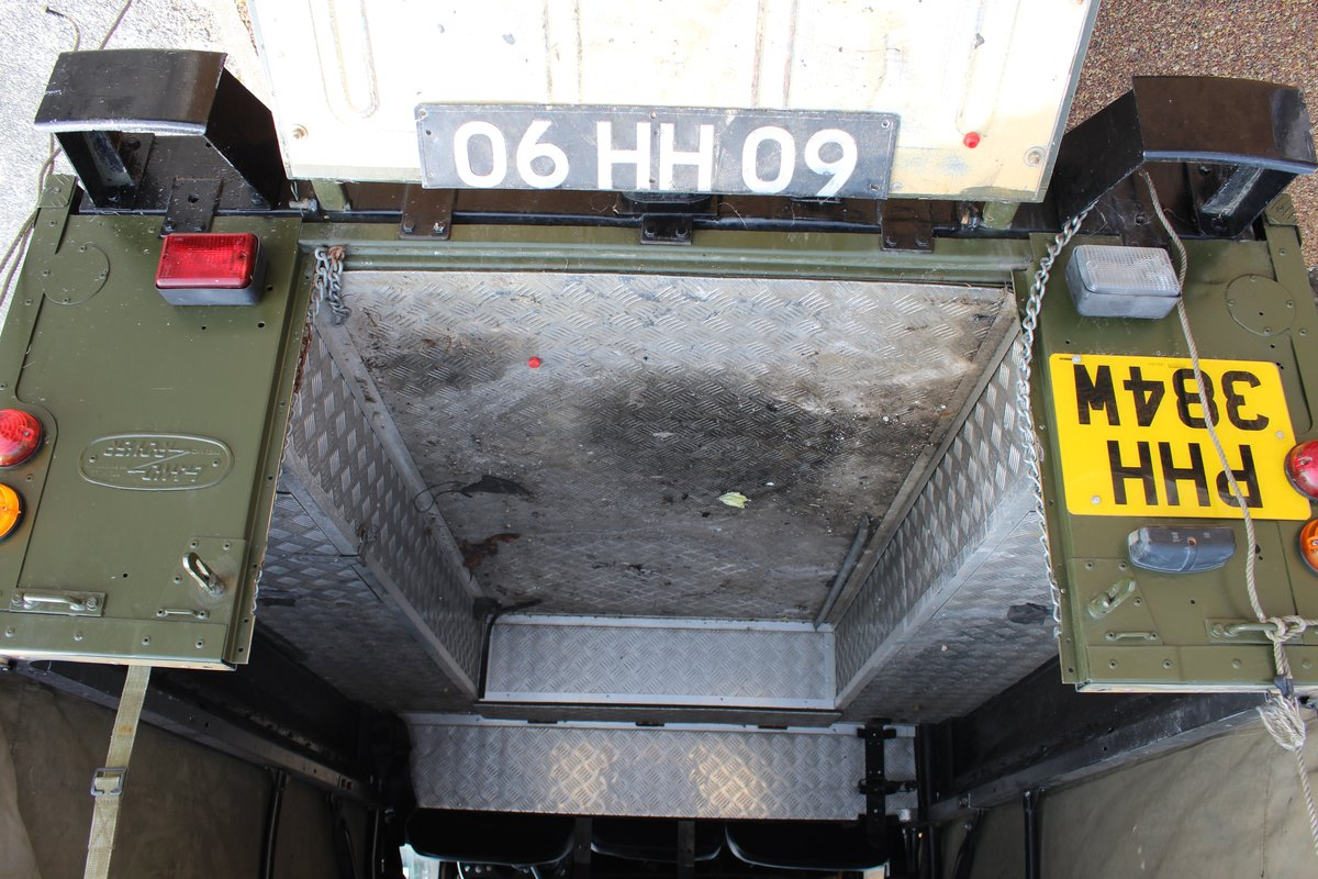 Ex-Army (Papers and Plate) Landy Series 3 1981 For Sale (picture 6 of 6)