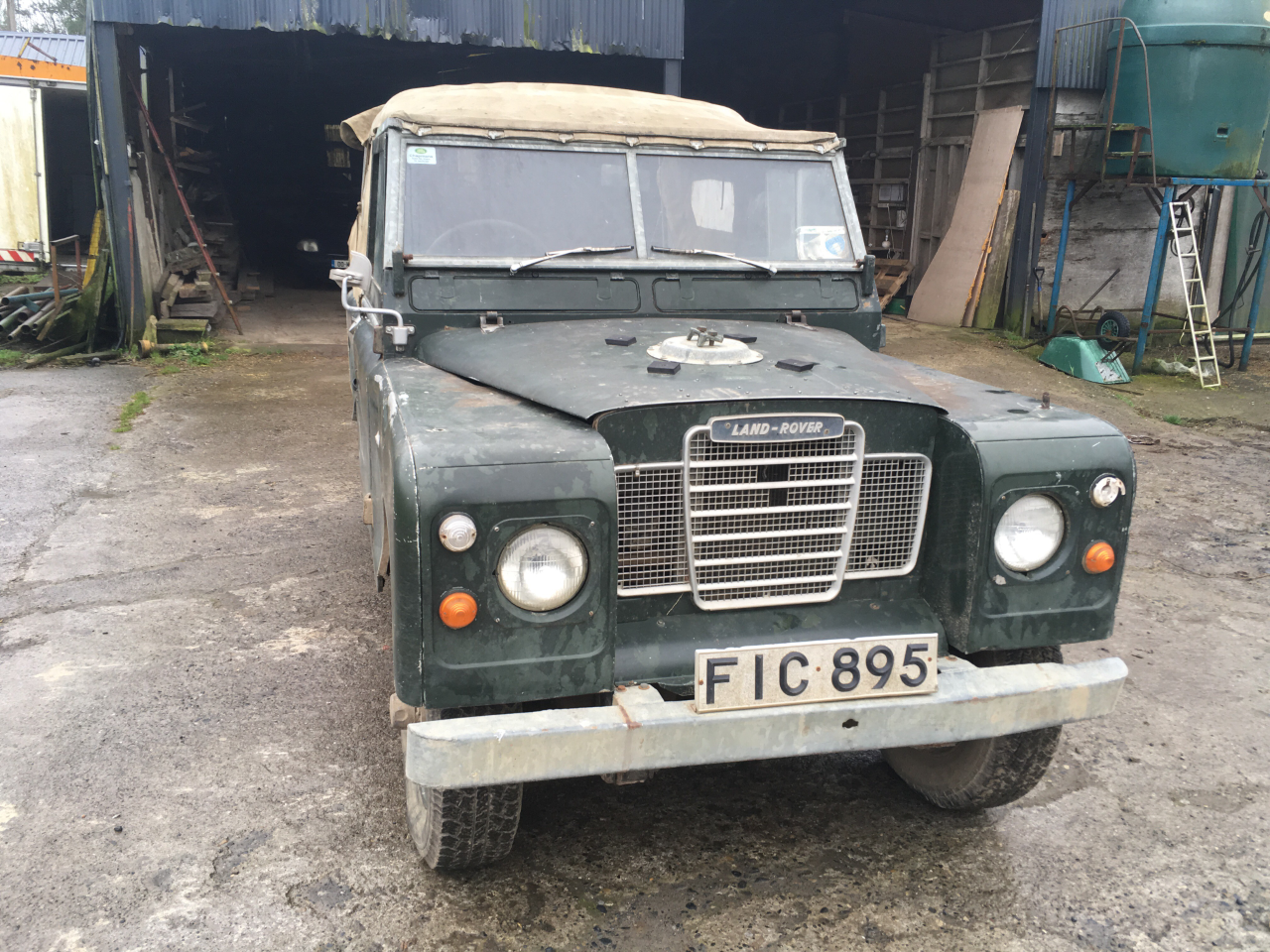 1971 Genuine series 3 landrover 88 For Sale (picture 1 of 6)