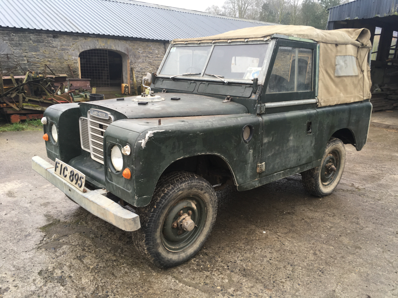 1971 Genuine series 3 landrover 88 For Sale (picture 2 of 6)