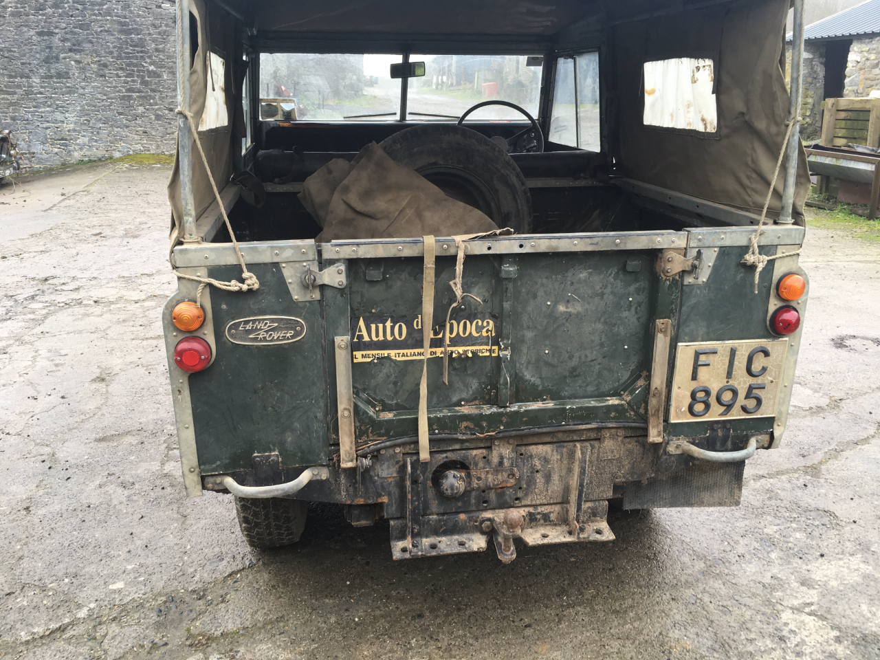 1971 Genuine series 3 landrover 88 For Sale (picture 5 of 6)
