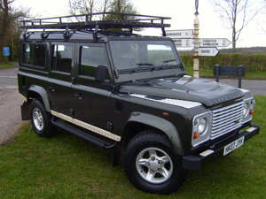 2007 Land Rover Defender 110 7 seat, only 18,000 miles  For Sale