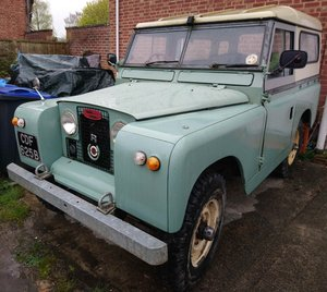 1964 For sale series 2A diesel landrover -200TDI +LT77