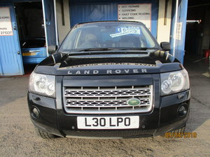 2007 AUTOMATIC FREELANDER 3 HSE IN BLACK WITH BLACK LEATHER NICE
