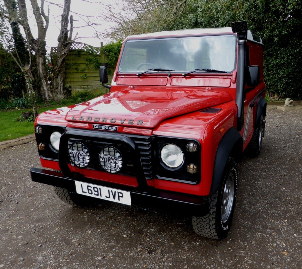 1993 Stunning And Out Standing Defender 90 200 TDi For Sale (picture 2 of 6)